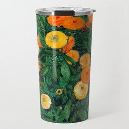 Marigolds by Koloman Moser, 1909 Travel Mug