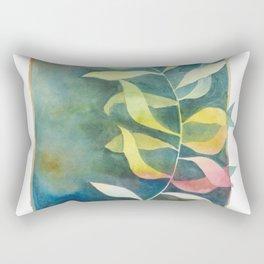 Autumn Palm Rectangular Pillow