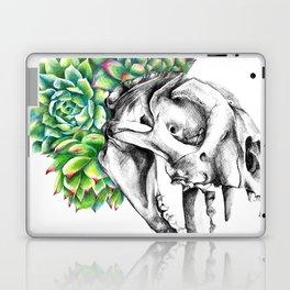 Rock Rose Cat Skull Laptop & iPad Skin