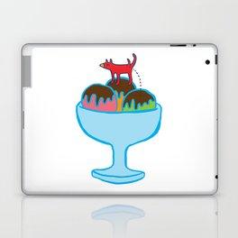 Ice-cream dog Laptop & iPad Skin