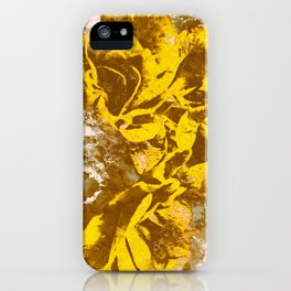 Yellow Rose Watercolor iPhone Case