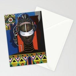 Initiation, Liberia - Loïs Mailou Jones Stationery Cards