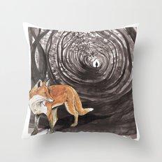 I am a Fox Throw Pillow