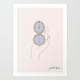 mysterious object #1 Art Print