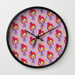 Japanese doll Wall Clock