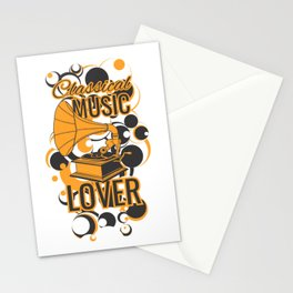 Classical Music Lover Stationery Cards