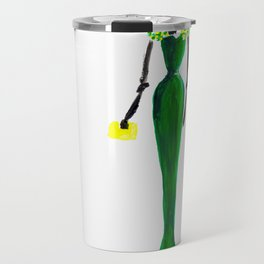 Flowered Dress Travel Mug
