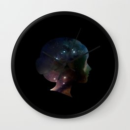 SPACEFACE Wall Clock