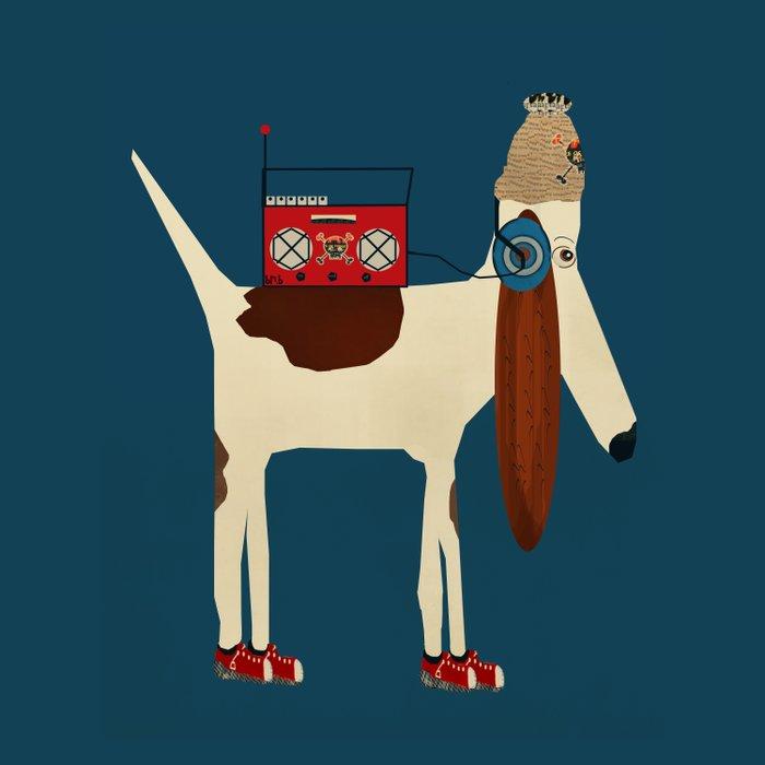 bootleg beagle  Duvet Cover