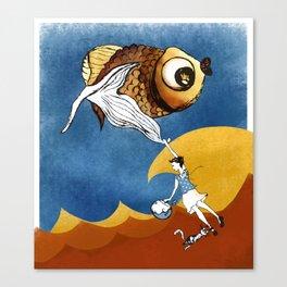 Nora's Fish 2 Canvas Print
