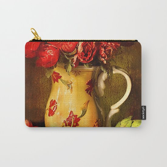 Flower and fruit Carry-All Pouch