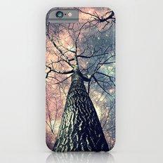 Wintry Trees Galaxy Skies iPhone 6s Slim Case