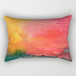 Flamingo Bay Rectangular Pillow
