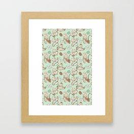 Kittea Time Framed Art Print
