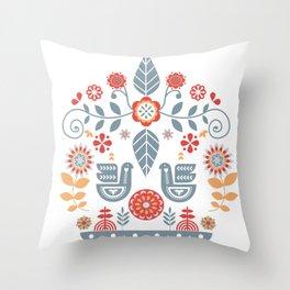 Scandinavian Hygge Throw Pillow