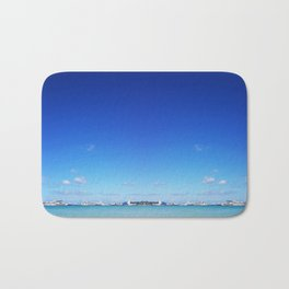Beach and Sky Bath Mat