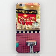 retro diner iPhone & iPod Skin