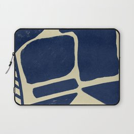 Strong shapes on simple background #640 Laptop Sleeve