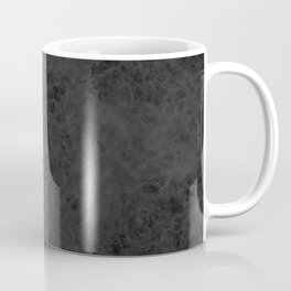 Black suede Coffee Mug