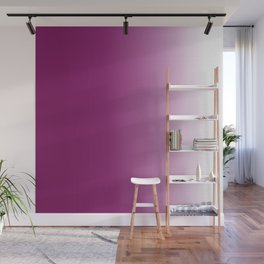 Ombre in Purple White Wall Mural