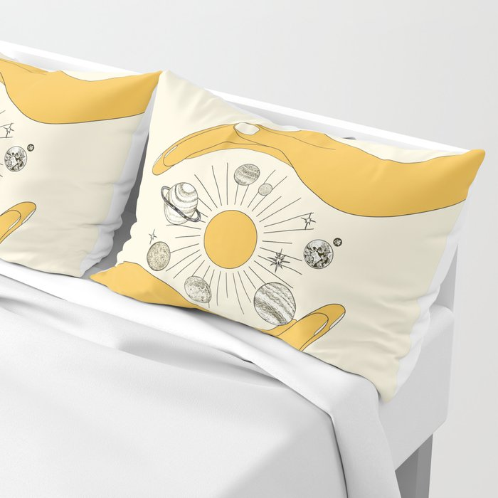 The Universe in Your Hands Pillow Sham