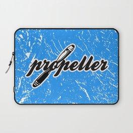 Propeller    1 --- clear2land.net copyright Laptop Sleeve