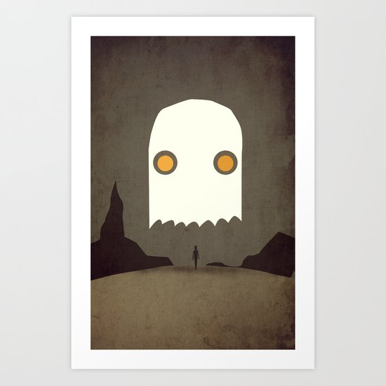 All Hallows' Eve Art Print