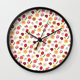 Your Are Beautiful - Flowers Wall Clock