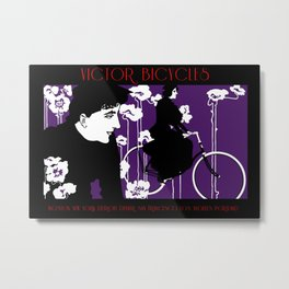 Victor Bicyles Goth Style Metal Print