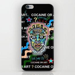 Drugs or Art iPhone Skin
