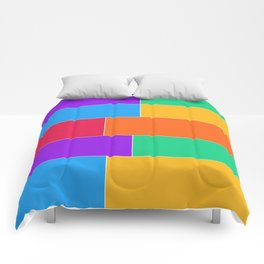 Patched Together Comforters