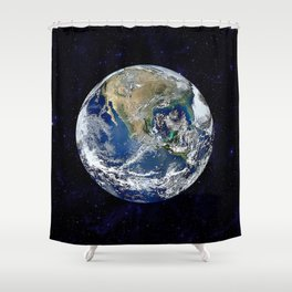 The Earth Shower Curtain