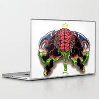 megaman Laptop & iPad Skins featuring Die Megaman Die by Sidsoot