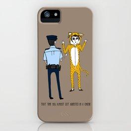 The Onesie Rebel iPhone Case