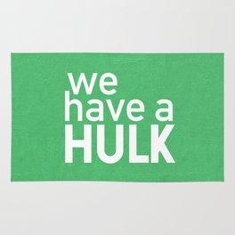 We Have A Hulk Rug