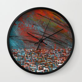 La ciudad de la furia Wall Clock