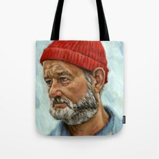 Bill Murray / Steve Zissou Tote Bag