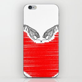 Duality - Love iPhone Skin