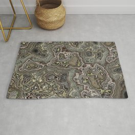 Marble relief Rug