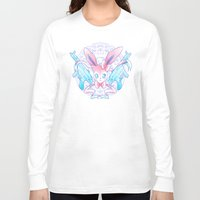 sylveon Long Sleeve T-shirts featuring Dragon Slayer: Sylveon by oops