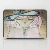 art history iPad Cases featuring Pink Ladies: Art History by Amy Burvall