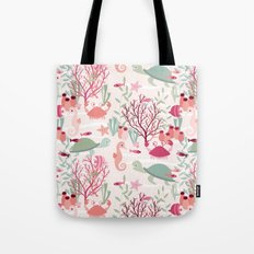 Life in the reef Tote Bag