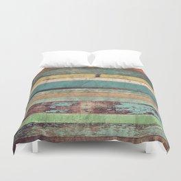 Wooden Vintage Duvet Cover