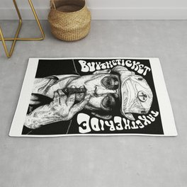 Buy the ticket, take the ride Rug