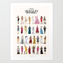 Who Run the World Kunstdrucke