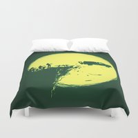 zombie Duvet Covers featuring Zombie Invasion by Picomodi