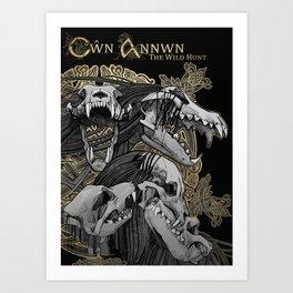 Cwn Annwn Art Print