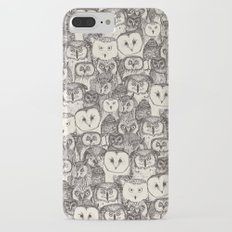 just owls natural Slim Case iPhone 7 Plus