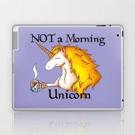NOT a Morning Unicorn Laptop & iPad Skin