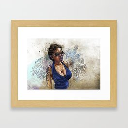 jazz bazz Framed Art Print